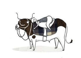 My steer and me by ysyra