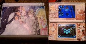 My New Nintendo Ds Lite Skin by AkatsukiAkuma53421