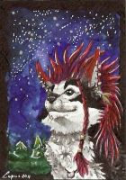 ACEO for Eleweth by LupusShetani