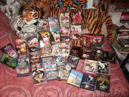 My Full Anime Movie Collectoin by DragonHeartLuver