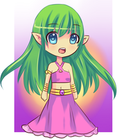 Chibi Elf by Moe-love-chu
