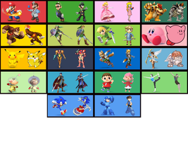 Super Smash Bros. Wii U/3ds Alt Costumes Ideas by TNTyoshiART