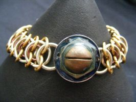 bolted with maille by BacktoEarthCreations