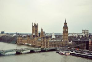 British Parlament by callmeoli