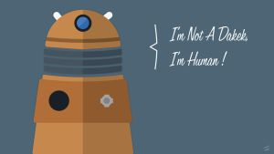 Doctor Who  - I'm Not a Dalek by The-Dr-Unknown