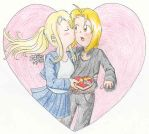 Winry's Valentine by IscahRambles