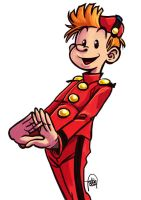 Daily Sketches Spirou by fedde