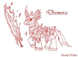 WTWE Dremora -Revised- by QuirkyWallace
