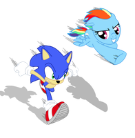 Ever do a SonicRainboom by SeaAndSunshine