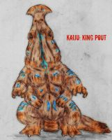 Pacific Rim Kaiju : King Pout by Quinn-Red