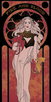 Fire and Blood by xerrxess