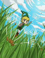 Minish Cap: Dandelion by Icy-Snowflakes