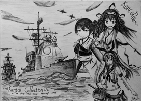 KanColle - The Ship That Leapt Through Time by HummerH3