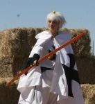 Chibitalia Cosplay: The Archer Knights by ClockworkStarling