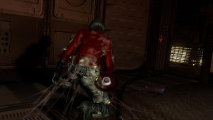 Ada Wong's sticky situation by DIDLilGirls