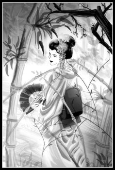 Geisha by Paranoid-Duckkie