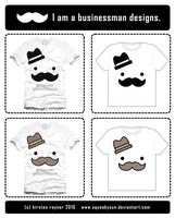Business man t-shirts by SqueakyToybox