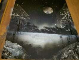 Starve Rock Spraypainting 25 by WindowtoaUniverse