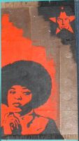 Angela Davis by EdwardAbbieyHoffman