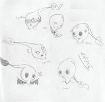 The Many Faces of PiK by PikminHensley