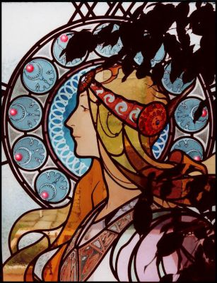 Mucha alike by jostrartat