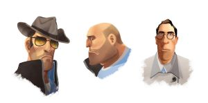 tf2 faces by coifishu