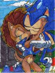 Sonic and Sally by Sonicgrl