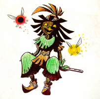 Skull Kid by SaneiVio