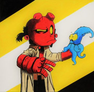 Hellboy by Miller-Is-Dead