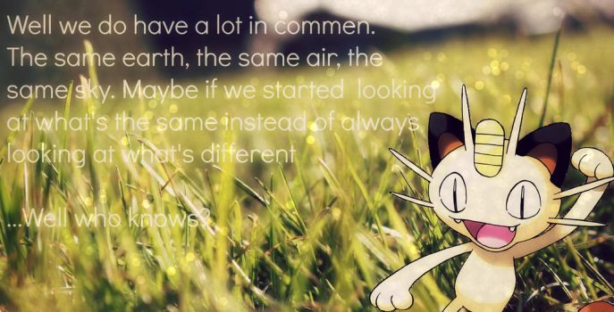 ~Meowth.. by Magnet-Crayon