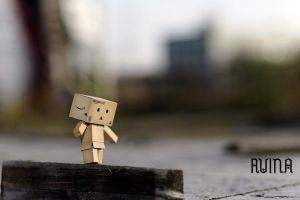 walk danbo by FotoRuina