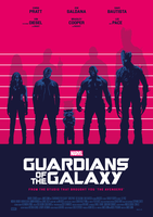 USUAL GUARDIANS OF THE GALAXY Poster Art (2/2) by RicoJrCreation