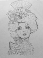 Effie Trinket by snoopy114