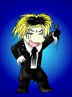 Chibi Kyo of Dir en Grey by LuciferDragon