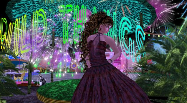 WildThangs Fireworks by BevAnnieEnchanted