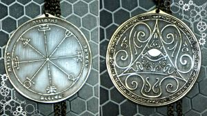 Second Pentacle of the Sun Greater Key of Solomon by TimforShade