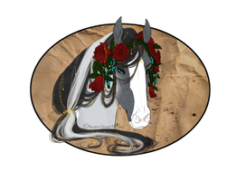.:CW:. Roses and Gold by Cheydelynn