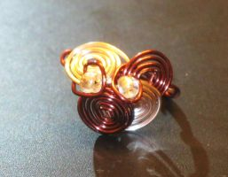 wire ring by faranway