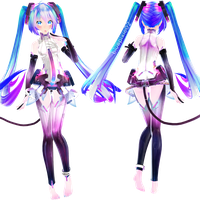 [MMD] TDA Miku Append ~ EDIT by bluepixie02