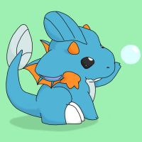 ChibiRyuu: Mudkip -old- by NeoTheBean