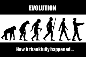 Evolution how it took place ... by JackythePainter