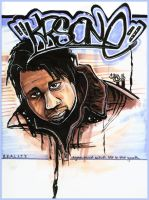 KRS-One by carboncopykiller