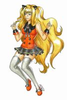 SeeU, Jumping high by CrimsonStigmata2501