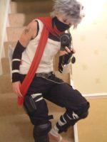 Anbu Kakashi Full Cosplay by firecasterx2