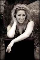 Dramatic Sepia Portrait 1 by PascalsPhotography