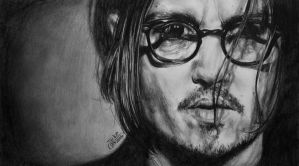 Johnny Depp by SuperImki