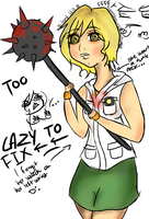 Silent Hill 3 Heather Colored by Roxasheart654