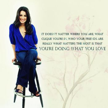 Doing What You Love by italianaussiehottie