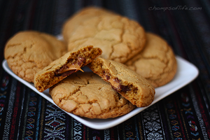 Rolo Filled Cookies by chompsoflife