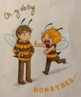Honey Bee by SuperAelita